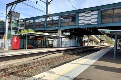 Macarthur Railway Station April 2018