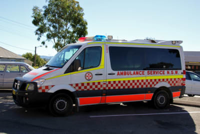 ambulance nsw lksajxls