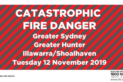 catastrophic fire danger