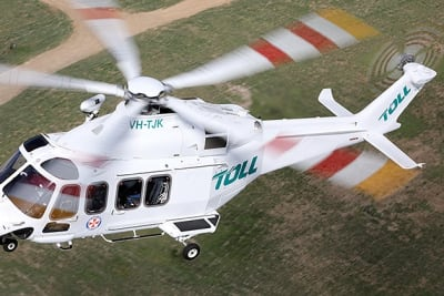 toll rescue helicopter