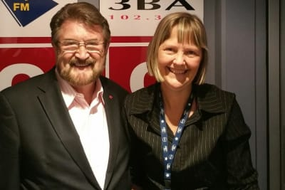 Derryn Hinch cropped with Gabe Hodson 3ba march 2018 20180309 102642 resized