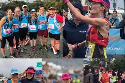 tash fraser natasha fraser ballarart runner may 2018 Great Ocean Rd 60km ultra n