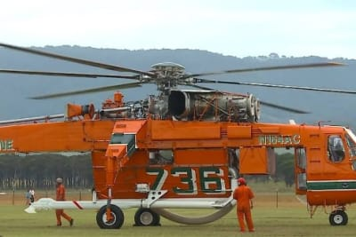 ericsopn aircrane helicopter firefighting t