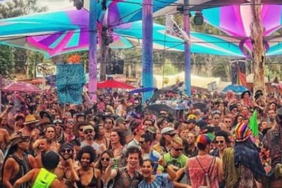 rainbow serpent festival crowd 0