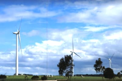 yaloak south windfarm wind farm turbines 2018 d