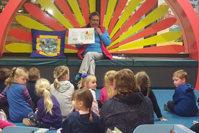 Ngarrindjeri Storytelling at Murray Bridge Library