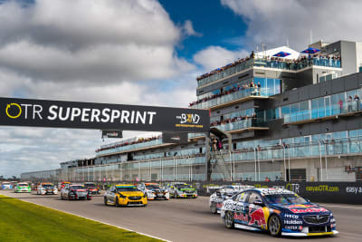 OTR Supersprint the Bend from supercars website