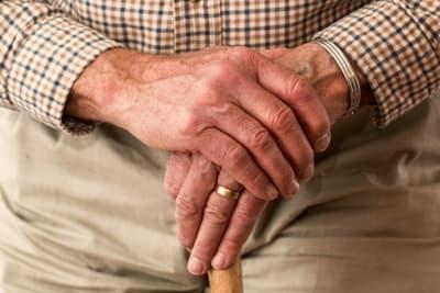 elderly person hands Pexels