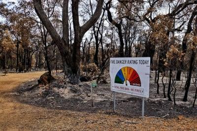 bushfire sign burnt australia trees warning pxfuelcomenfreephotoxcxtj