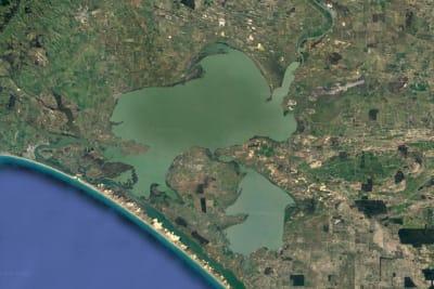 Lake Alexandrina from Google Earth