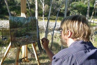Painting at Jockers Flat