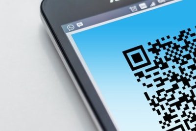 qr code smartphone Photo by Pixabay from Pexels