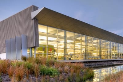Photo of Victor Harbor Library by Debra Richards from Council website supplied