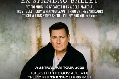 tony hadley tour poster