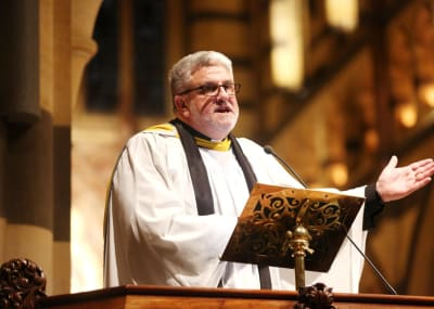 Anglican Bishop Richard Condie
