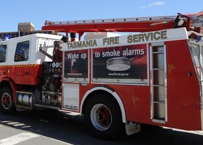 Tasmania Fire Service truck