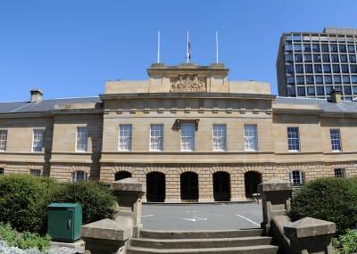 Parliament House Hobart Panorama