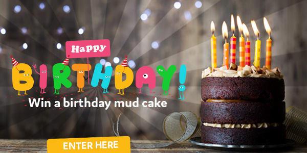 Birthday Mud Cake no sponsor