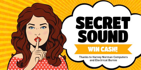 Secret Sound harvey