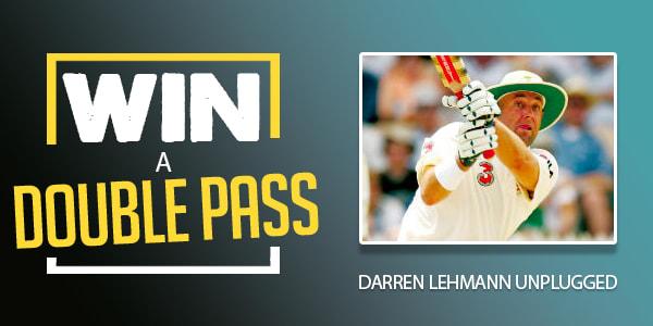 Slide double pass to Darren Lehmann CCT
