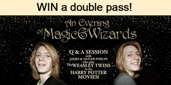 an evening of magic and wizards