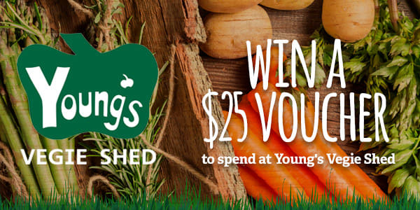 Youngs Veggie Shed Perfect Picks 25 voucher slider