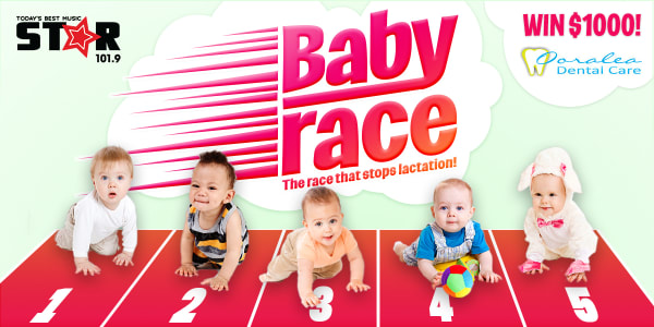 Baby Race - the race that stops lactation