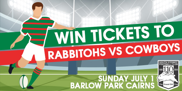 Slider Rabbitohs vs Cowboys