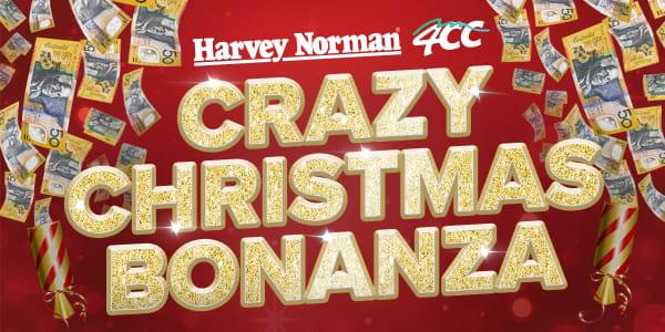 SQL GLS 4CC Harvey Norman Crazy Christmas Bonanza Slider 1200x600