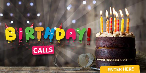 Birthday Calls generic no cake