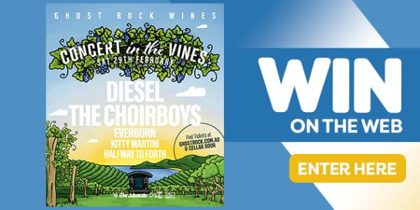 win 7ADBU concert in the vines