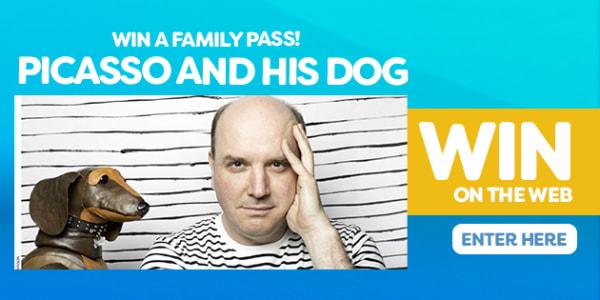 win 7ADBU picasso and his dog