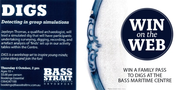 wotw DIGS at the Bass Maritime Centre