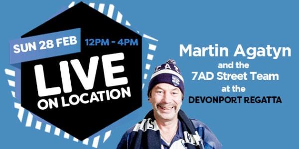 Martin Live on location slider