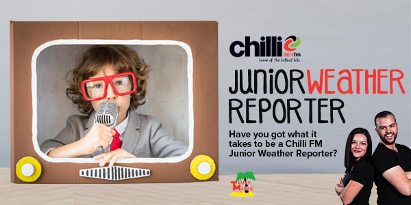 chilli junior weather reporter slider new