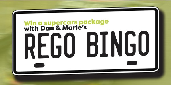 rego bingo supercars slider 2019