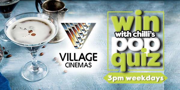 pop quiz village cinemas