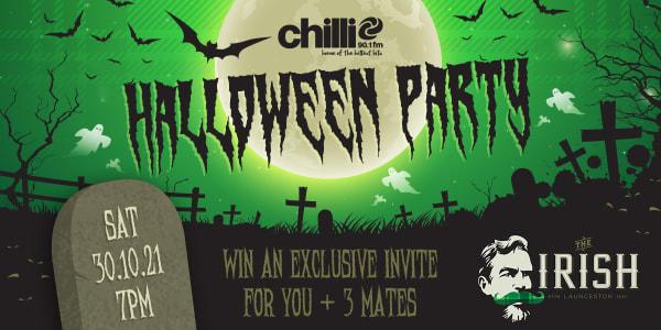 TAS LNC Launceston Chillis Halloween Party 1200x600