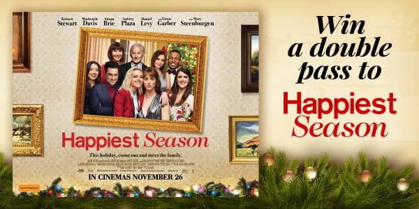 QLD Happiest Season Movie Tickets 1200x600