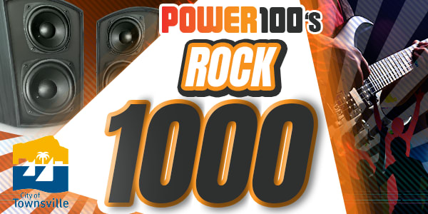 SlidePower100sRock1000 logo