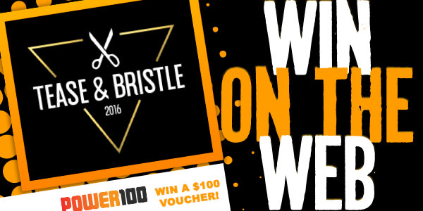 Slider Win on the Web Tease Bristle