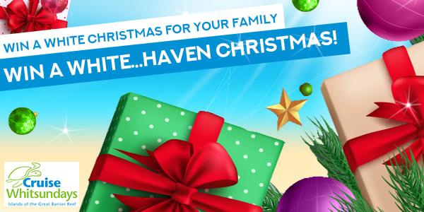 A WHITE Haven Christmas Slider