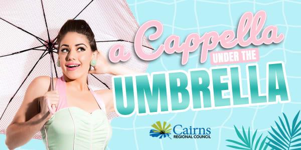 A capella under the umbrella SLIDER