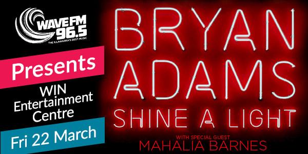 Bryan Adams Win Entertainment Centre Wollongong Mar 22 2019