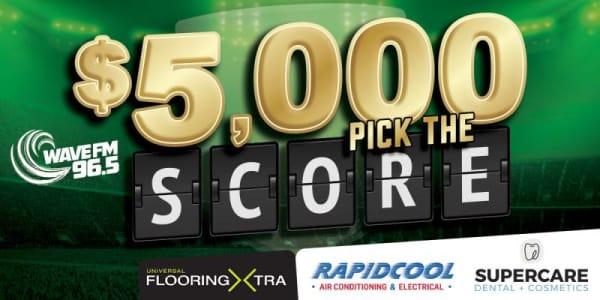 WAV 5000 pick the score slider 2021