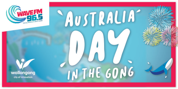 Australia Day in the Gong 2019
