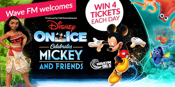Wave FM Welcomes Disney On Ice Celebrates Mickey and Friends!