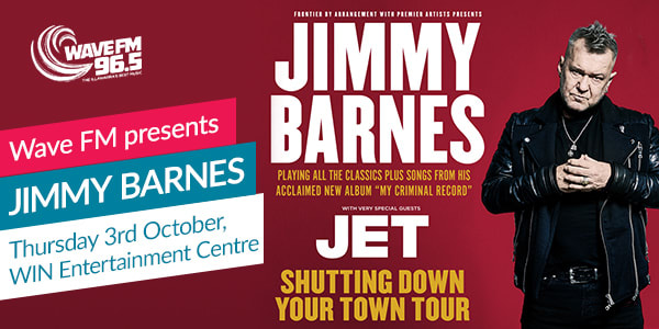 Jimmy Barnes - Shutting Down Your Town Tour