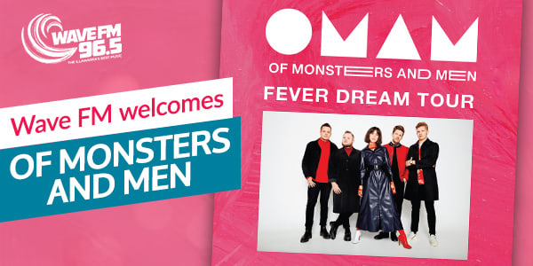 Wave FM welcomes Of Monsters and Men