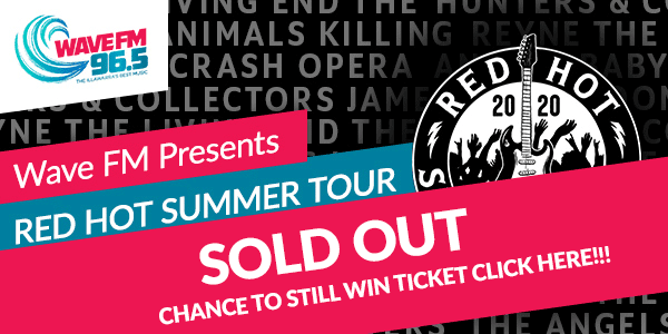 Red Hot Summer Tour 2019 slide sold out 2